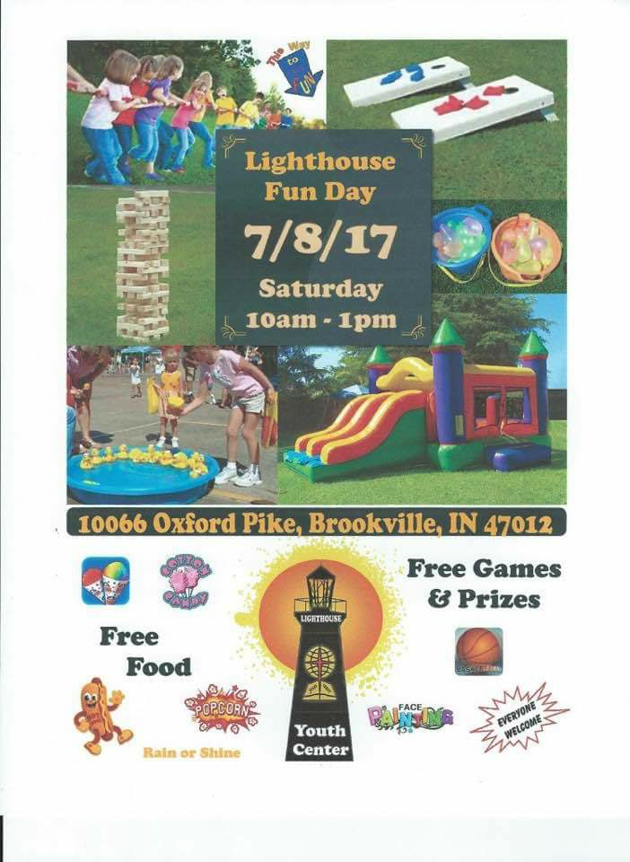 Lighthouse Fun Day 7/8 10am-1pm
